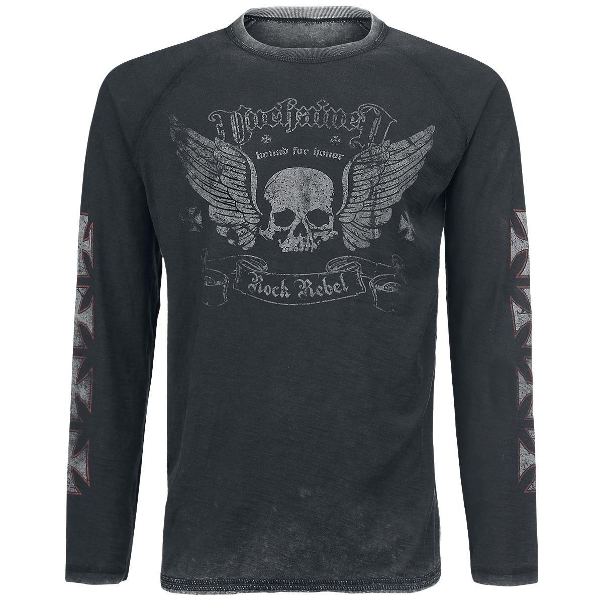 Rock Rebel by EMP esittelee miesten tyylikkäimmän pitkähihaisen: http://www.emp.fi/rock-rebel-by-emp-bound-for-honor-pitkahihainen-paita/art_287594/?campaign=emp/fi/sm/pin/promotion/desk/14102014-287594