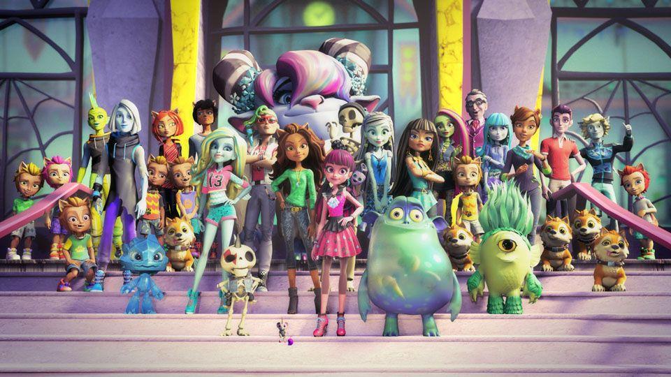 Los del sótano: Estrenado el reboot de las Monster High
