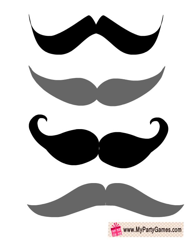 Moustaches Props | бутафория | Pinterest