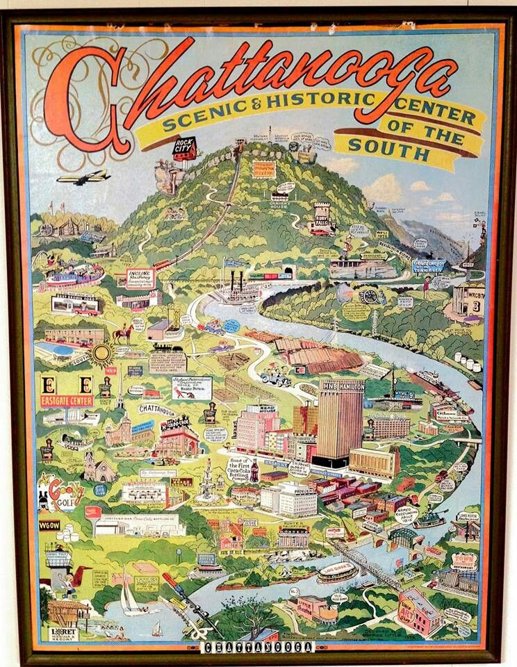 Pin By Aj Cheek On Living In Chattanooga Tennessee Chattanooga Map Chattanooga Tennessee Chattanooga