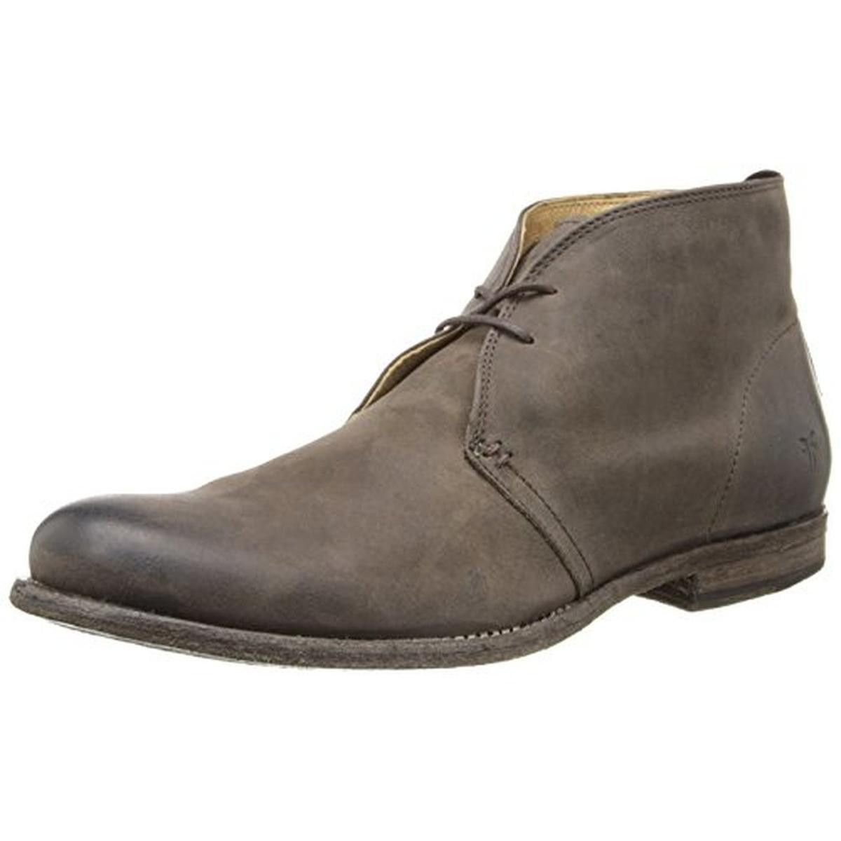 Frye Mens Phillip Leather Distressed Chukka Boots   Products ...