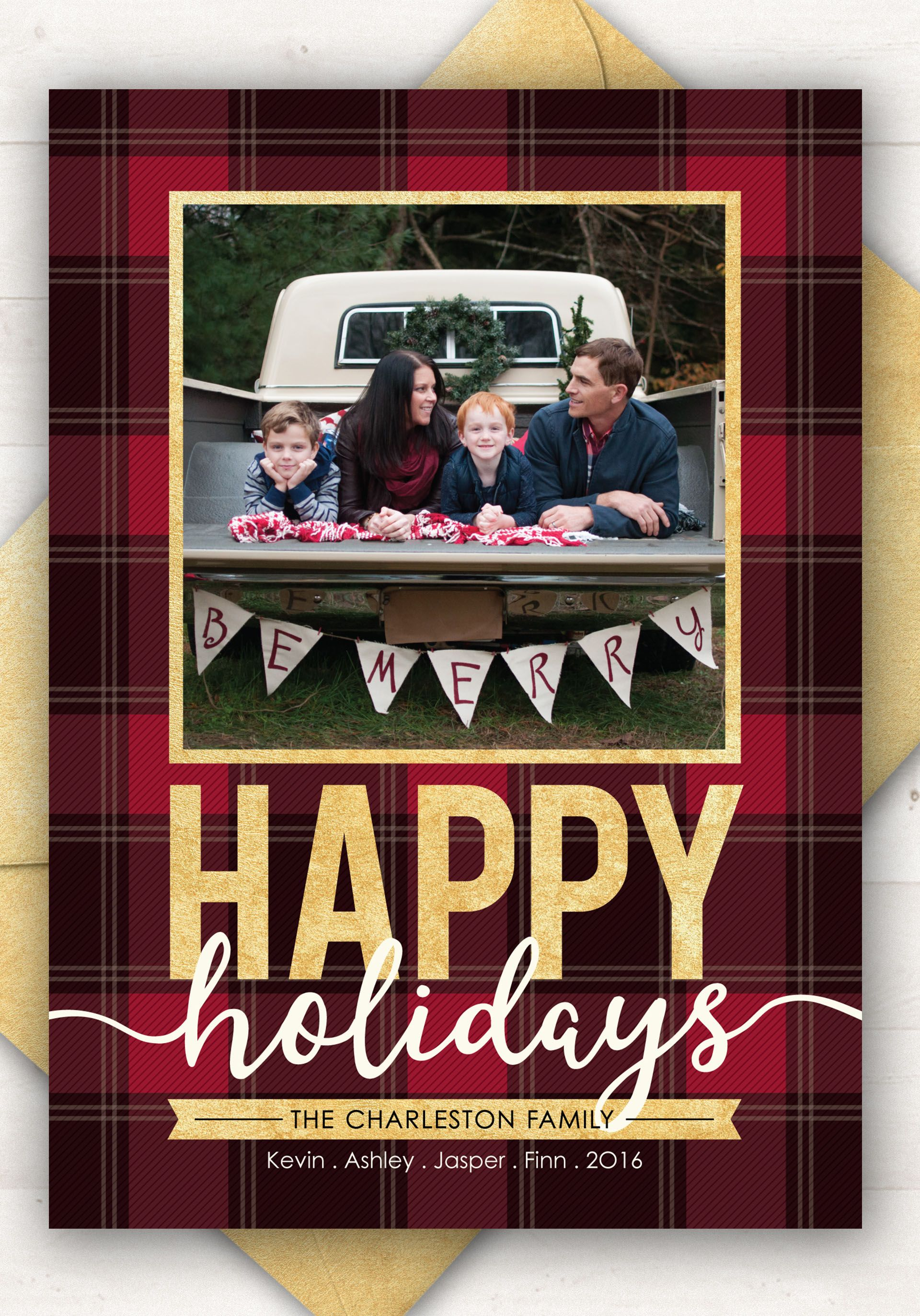 Custom Christmas Cards Photo Holiday Cards Plaid Christmas Etsy Custom Christmas Cards Printable Holiday Card Plaid Christmas Card
