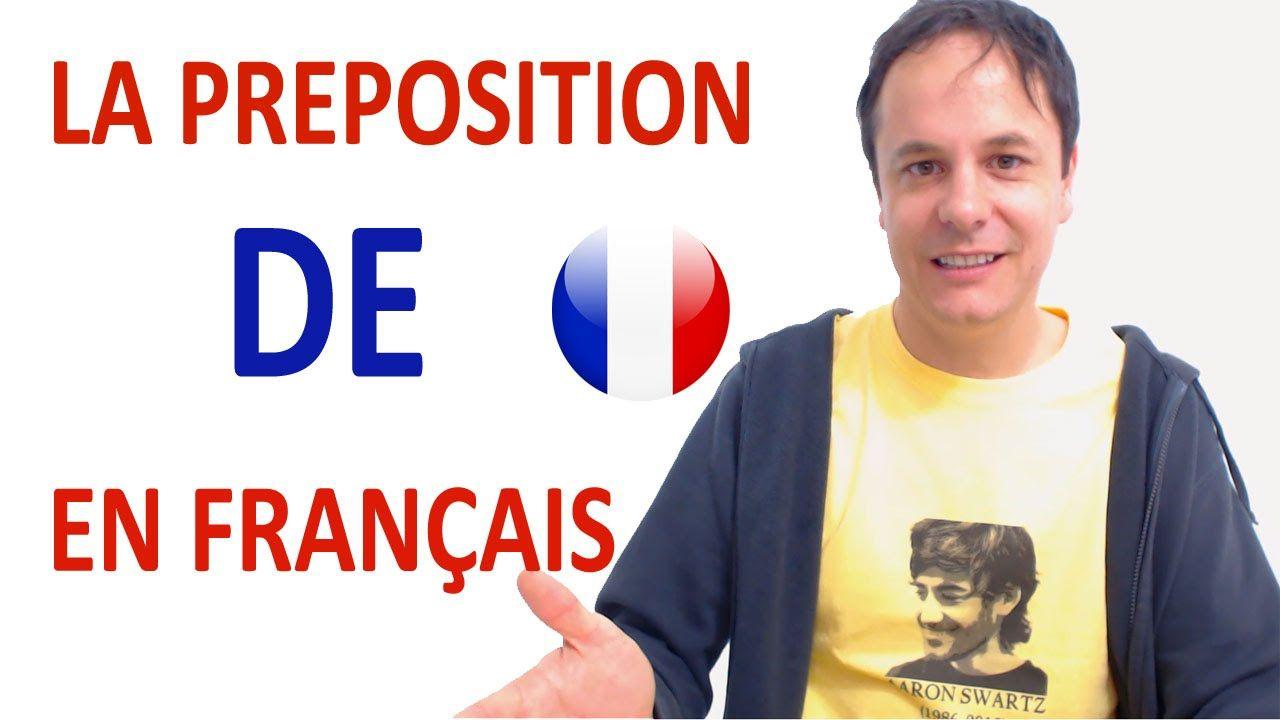 La preposicion francesa de fle les prpositions pinterest la preposicion francesa de kristyandbryce Choice Image