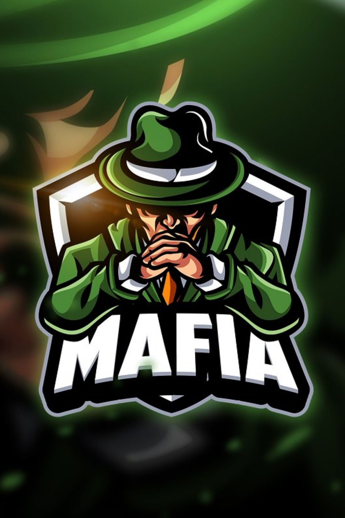 Mafia Mascot & Esport Logo Premade color variation (5