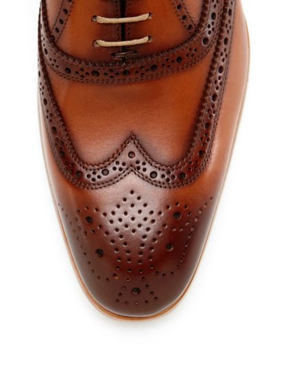 Perforated Wingtip Oxfords by Antonio Maurizi at Gilt