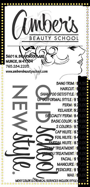 Amber S Beauty School Salon Spa Services Home Hair Salons Beauty School Salon Services