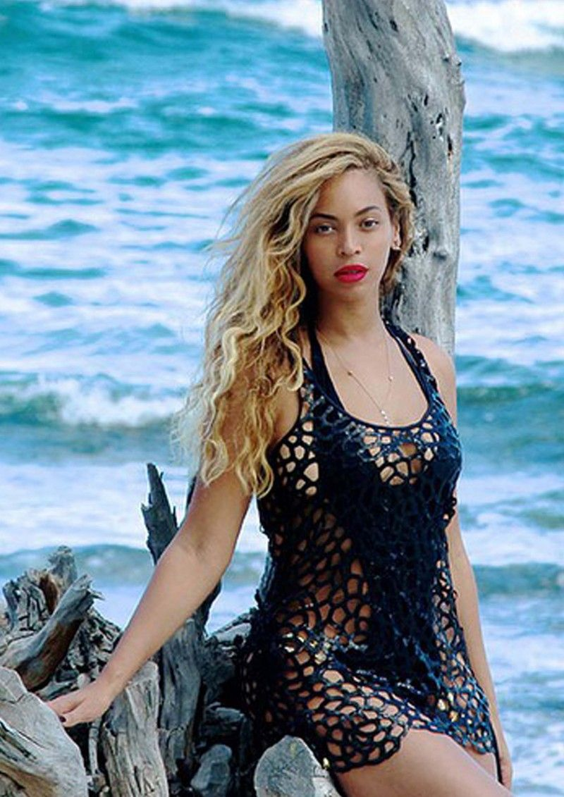 db9fa2c2498 Beyonce wears Varla Cover-up