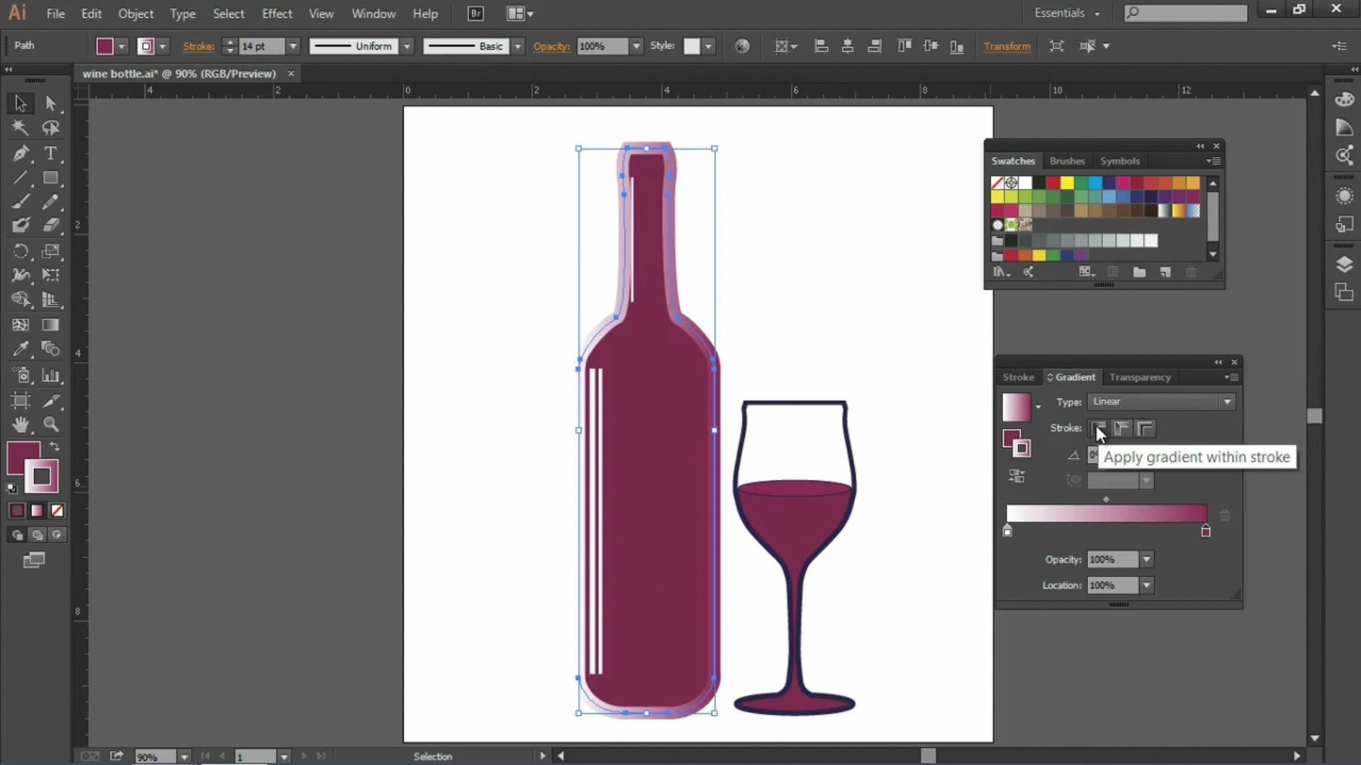Add depth to your vector artwork! Learn how to apply a