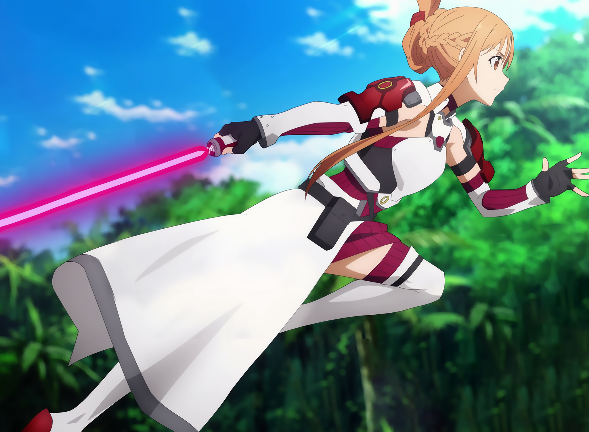 Ggo Asuna V2 Sao Alicization Music Indieartist Chicago Sword Art Online Season Sword Art Online Wallpaper Sword Art