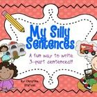 This is a fun way to get your students to build their own sentences! Great for writing centers!
