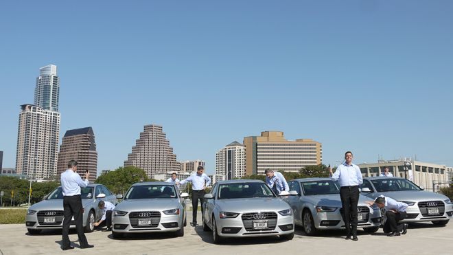 At Rental Car Upstart Youll Take A Silver Audi Or Walk - Audi rental cars