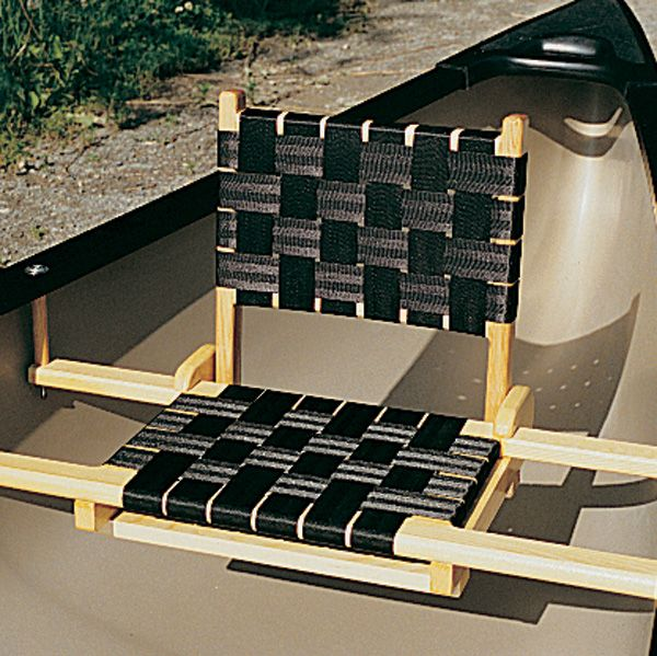 canoe chair black distressed kitchen chairs oldtowncanoe accessories seat backs the man