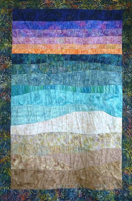 Youtube Downloader With Images Ocean Quilt Coastal Quilts Seascape Quilts