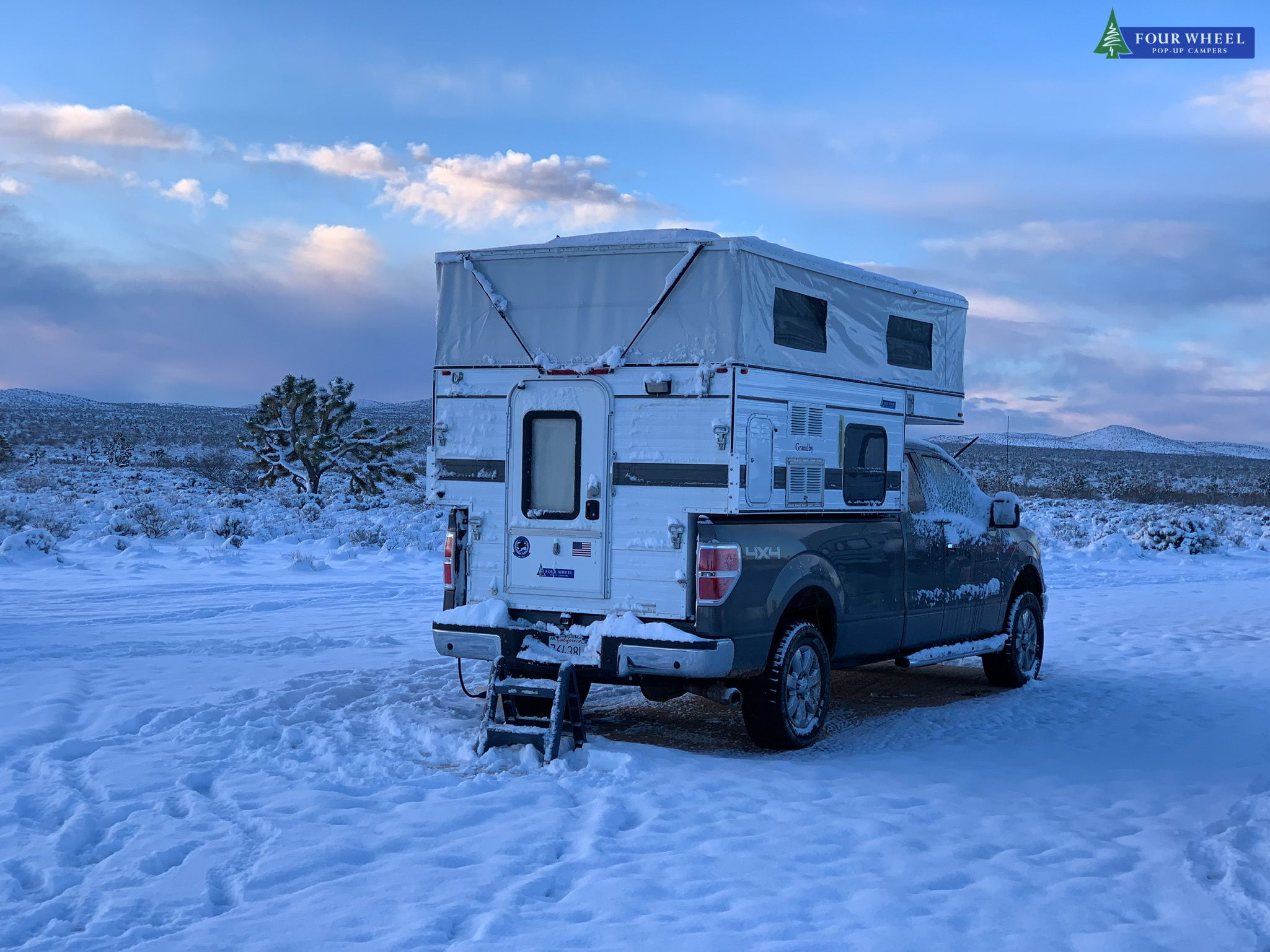 The Furnace Is A Must Have In A Four Wheel Camper Snow