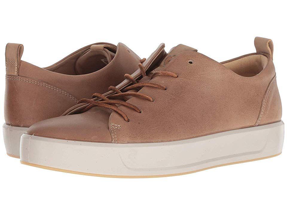 ECCO Soft 8 LX Retro Sneaker (Dune