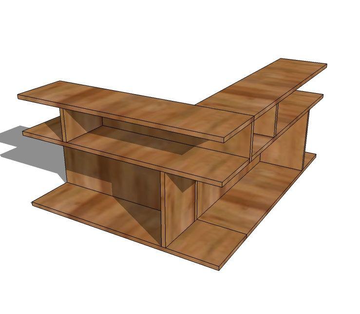Puzzle End Table Diy Furniture Plans Diy Furniture End