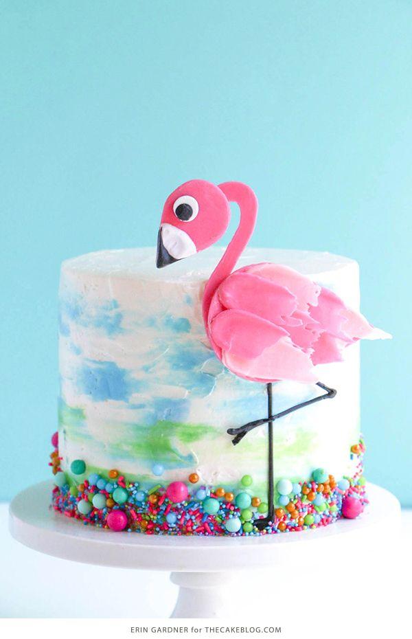 Flamingo Cake Birthday Cakes Pinterest Flamingo Cake Candy