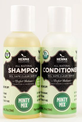 Henna Color Lab Shampoo Conditioner And Hair Dye All Cruelty Free