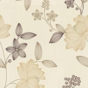 The Wallpaper Company 8 In X 10 In Limani Floral Wallpaper