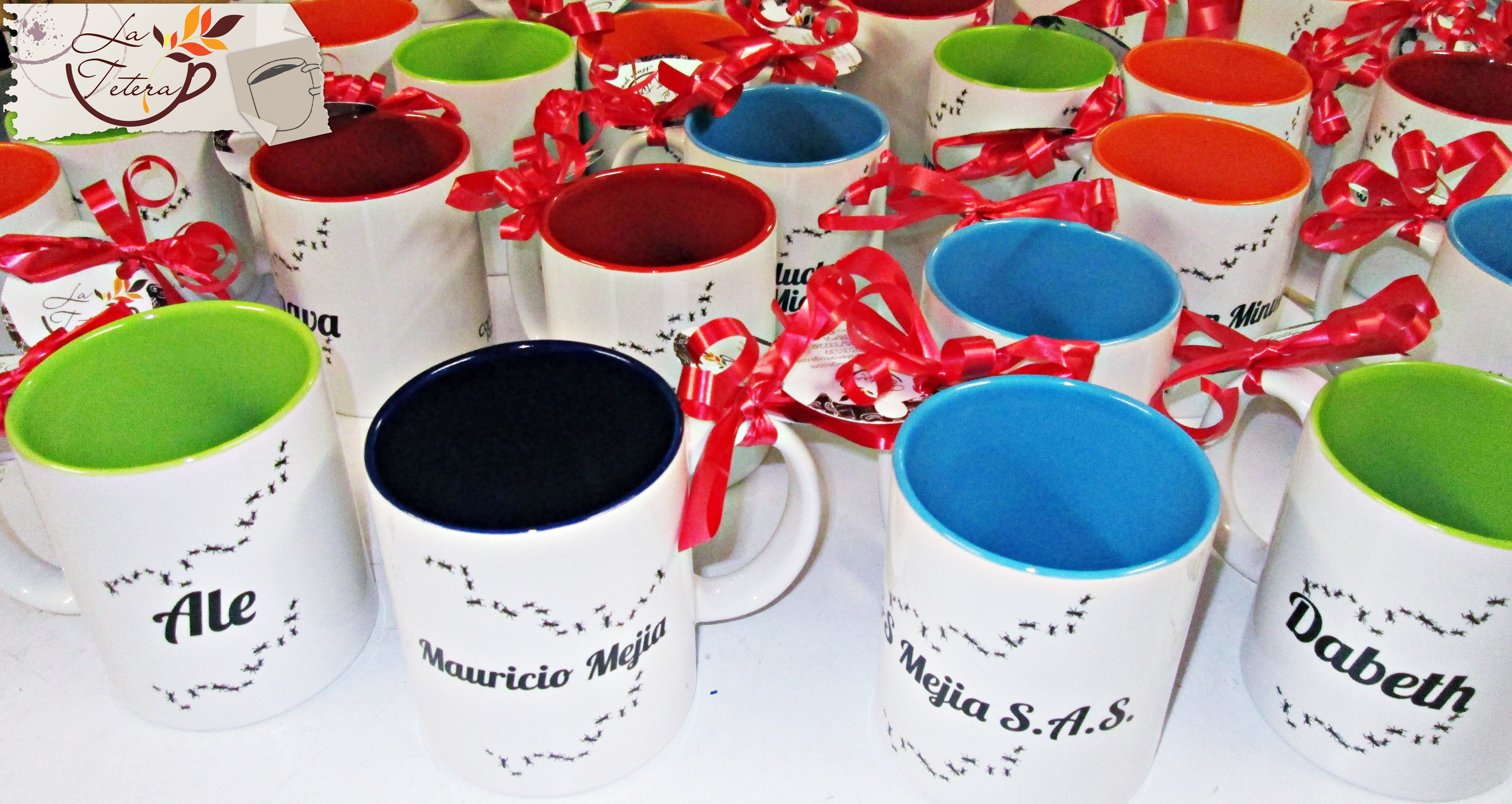 Complementa tu dotacion corporativa con tus mugs personalizados. Solicita tu coitzacion a mercadeo@lateteramugs.com Envios a todo el pais!