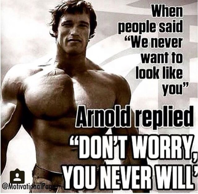 Arnold Schwarzenegger | @vedrinamostar #vedrinamostar. Bodybuilding  QuotesBodybuilding MotivationBodybuilding ...