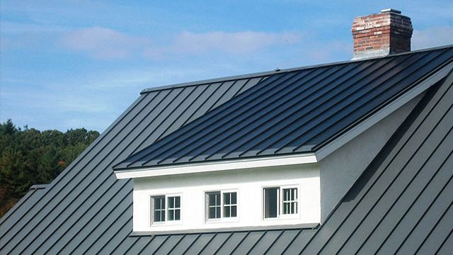 Englert Integrated Metal Roofing System With Solar Water