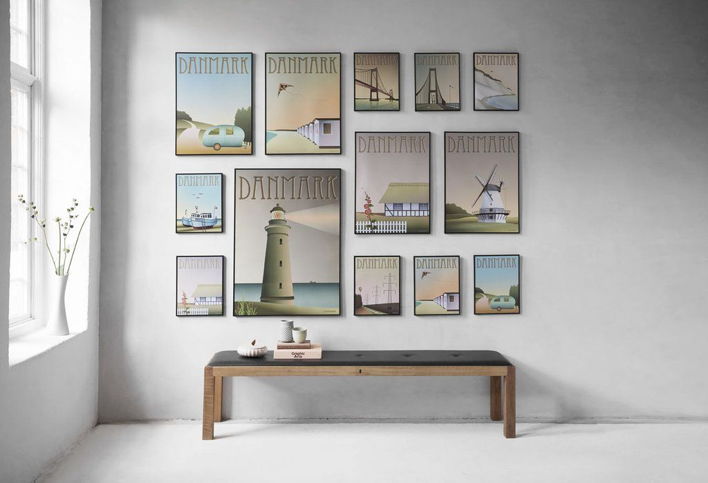 Scandinavian posters giveaway with ViSSEVASSE | Gallery wall, Poster ...