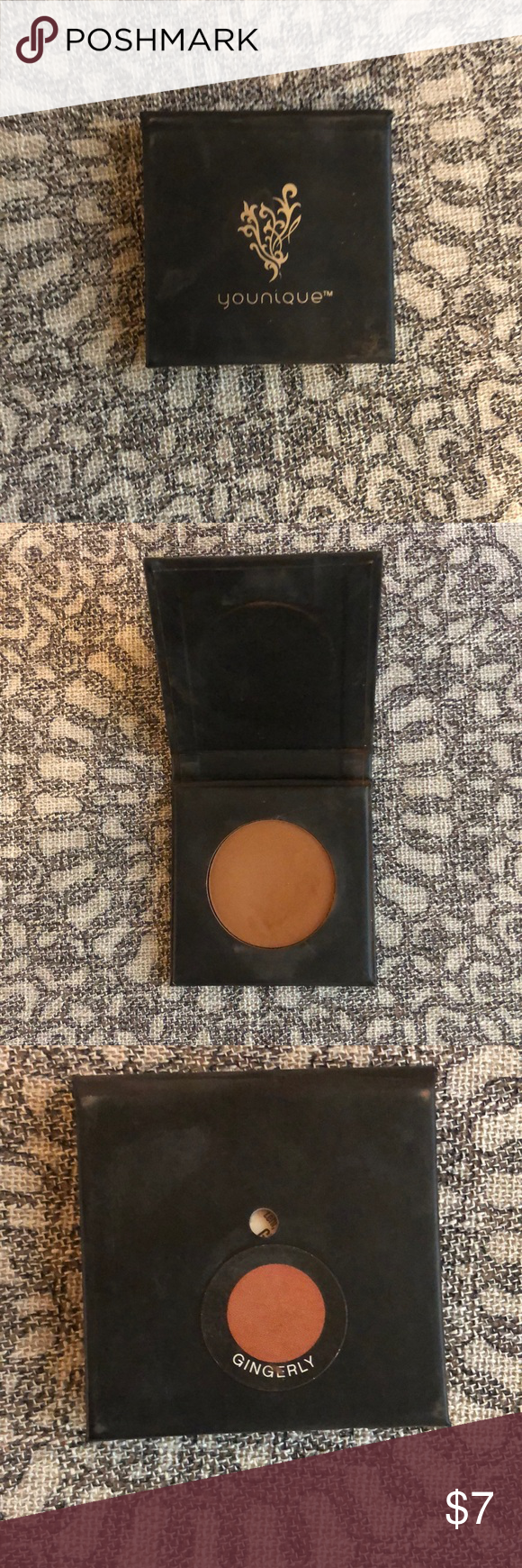 Younique Pressed eye shadow- Ginger Matte brown. Used a few times. Younique Makeup Eyeshadow #youniquepressedshadows