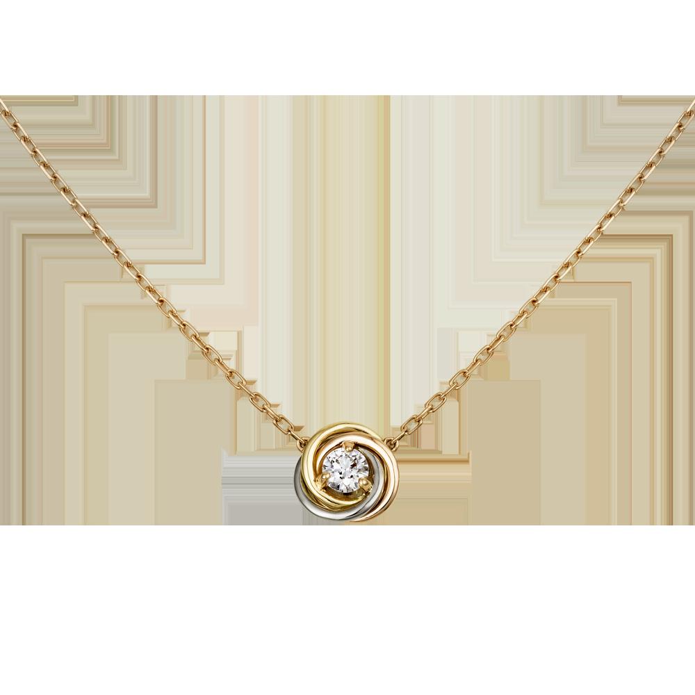 0d884c60b571d0 Trinity de Cartier, necklace | shiny | Cartier necklace, Cartier ...