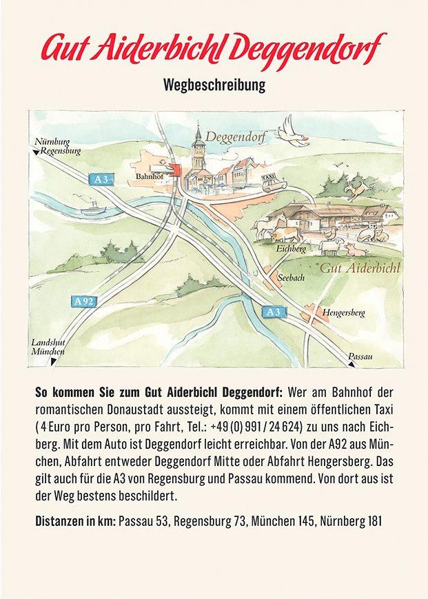 Gut Aiderbichl Michael Aufhauser Passau Wegbeschreibung
