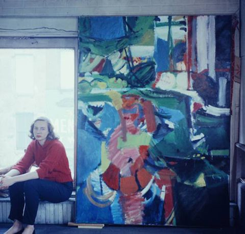 Few art movements are as synonymous with the image of a paint-splattered male painter than abstract expressionism. Some of art history's most radical masculine personalities emerged from the period...