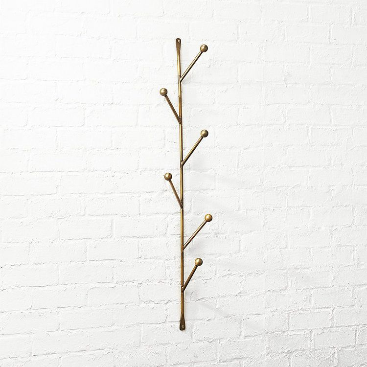 10 decorative wall hooks that are almost too pretty to hang things