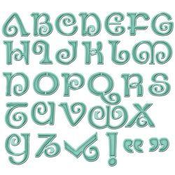 Spellbinders Grand Shapeabilities - Jewel Alphabet