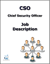 Cso Chief Security Officer Job Description Defines The Role And Responsibilities Of The Position Job Description Security Officer Job