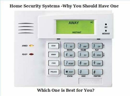 Home Security Systems Why You Should Have One Which One Is Best For You The Prepared Page Home Security Systems Home Security Honeywell Security