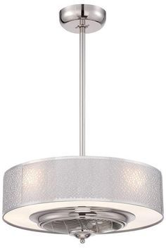 Modern Ceiling Fan Lights: Cozette Indoor Ceiling Fan - Ceiling Fans With Lights - Modern Ceiling Fans  - Contemporary Ceiling,Lighting
