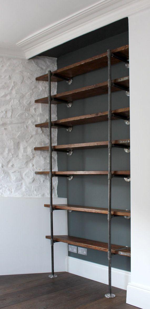 Regal Stahlrohr Küchenregal Pinterest Stahlrohr, Regal und Möbel - Schlafzimmer Rustikal Einrichten