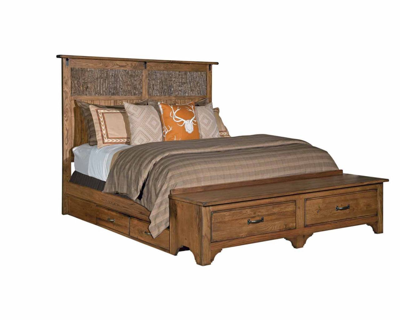 Home Gallery Furniture Queen Linville Storage Bed Kincaid