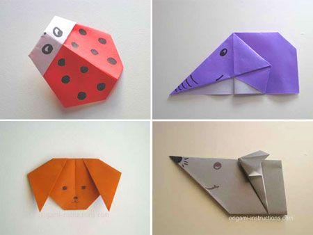doblado de papel para hacer figuras