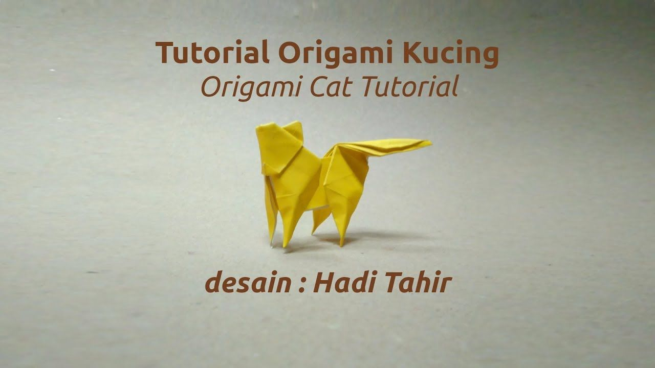 Cara membuat origami kucing how to make an origami cat tutorial cara membuat origami kucing how to make an origami cat tutorial ccuart Images