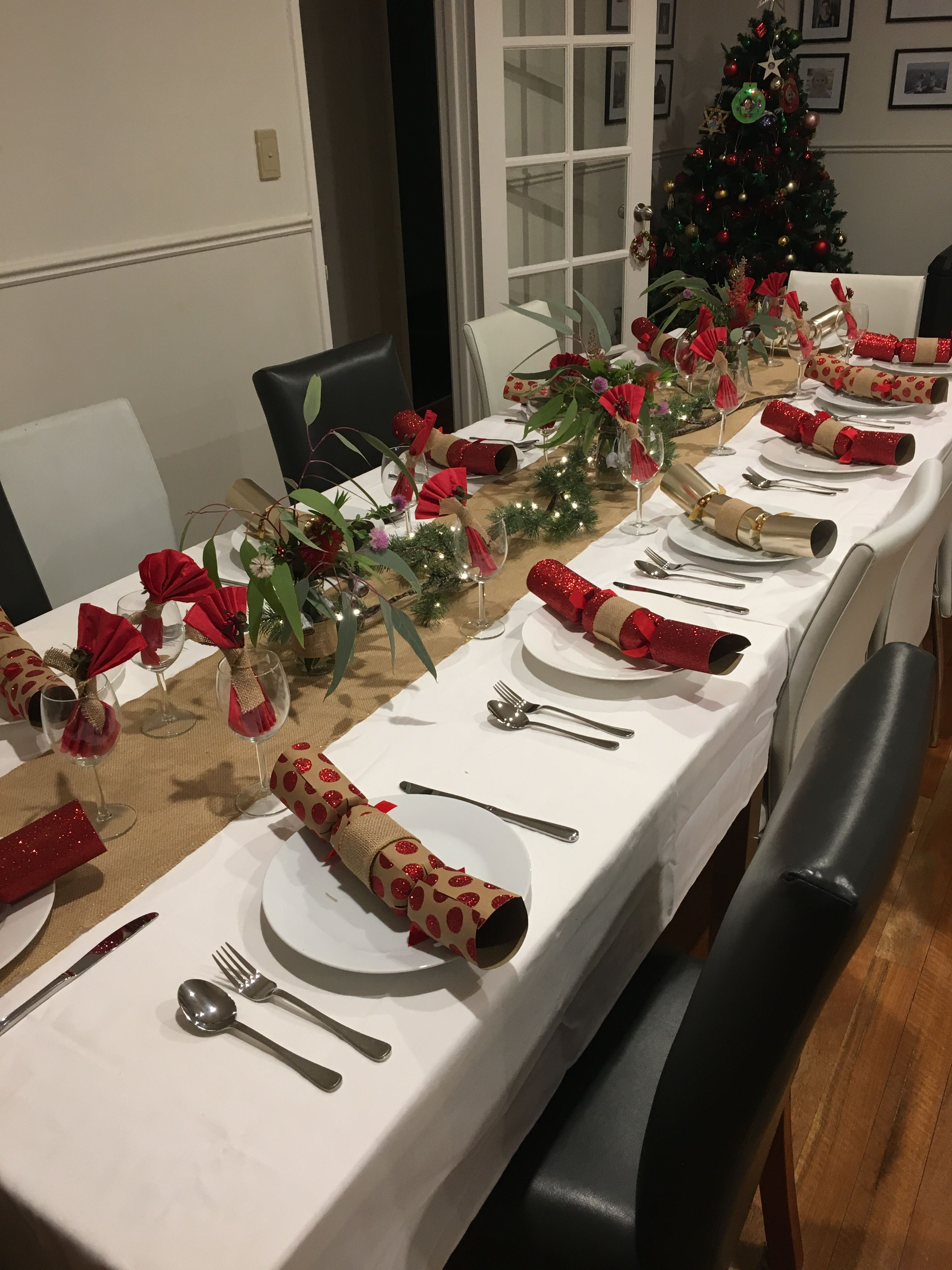 Australian Native Christmas Table Christmas Table Christmas Decorations Australian Australian Christmas