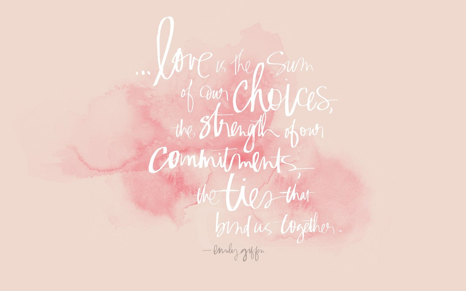 Love Quote Free Download 'Love is' Designed By Julie Song