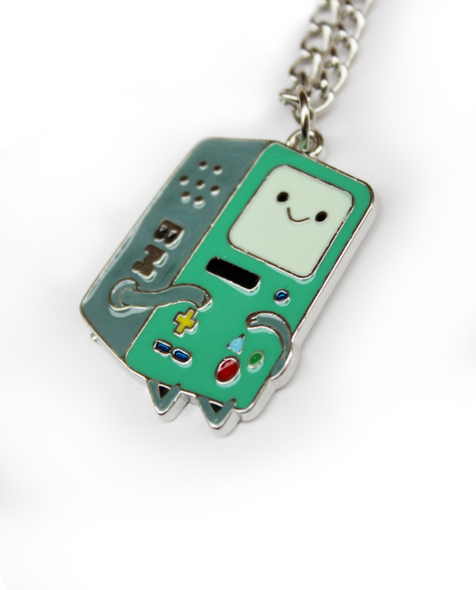 Collar BMO 12€    pikapikashop.com #timeofadventure #horadeaventuras #bmo #kawaii #cute #pikapikashop #barcelona