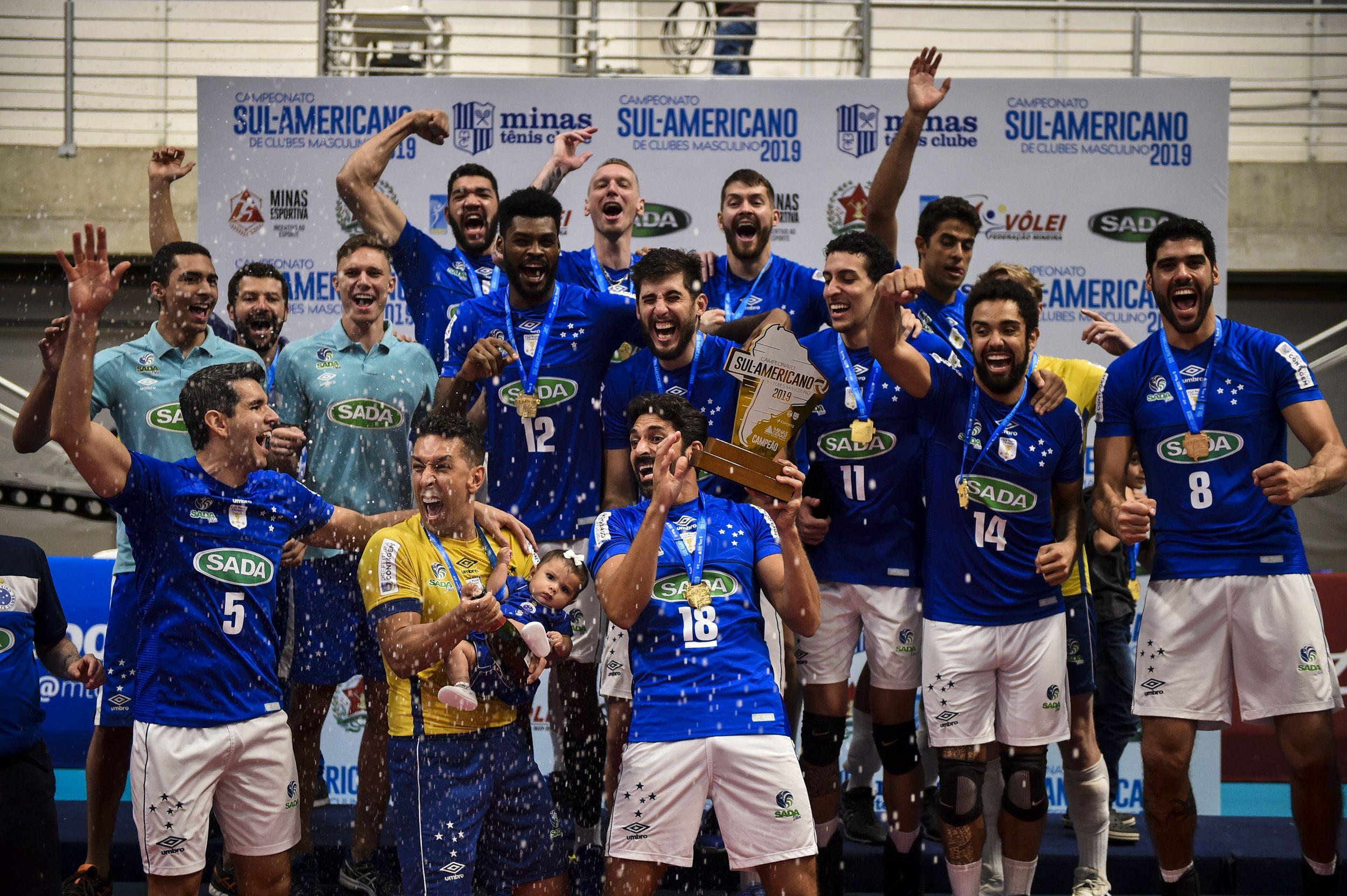 Sada Cruzeiro Historia Titulos Recordes Elenco E Idolos Sada Cruzeiro Cruzeiro Volei Masculino