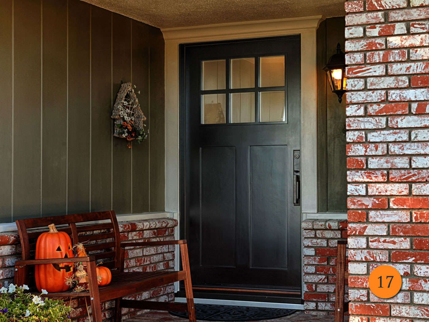 Many California homeowners have a 42 inch entry door or 5 foot ...