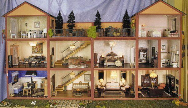 barbie diorama casa de mu ecas clasica fuente