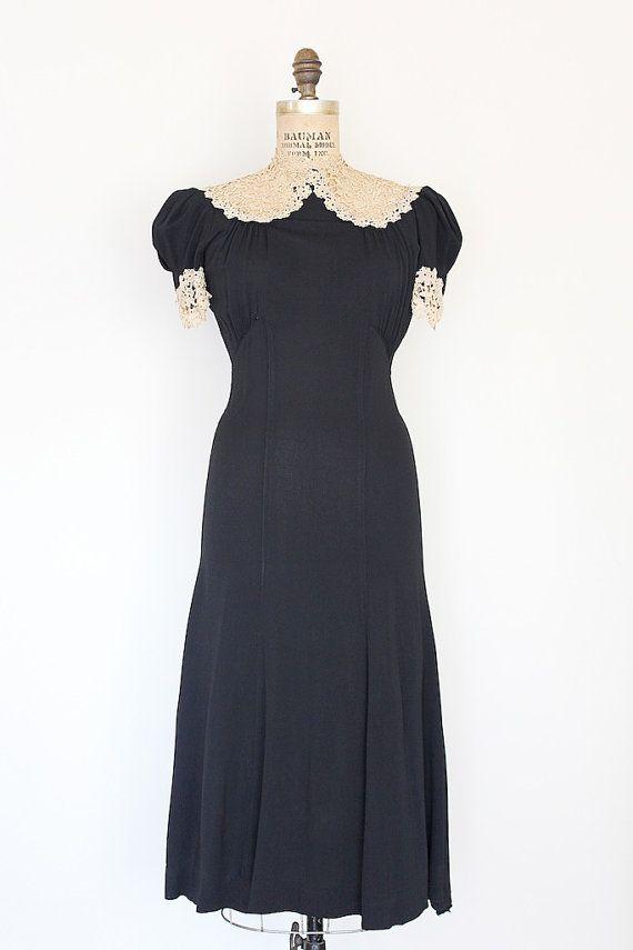 Vintage 1930s Cocktail Dresses