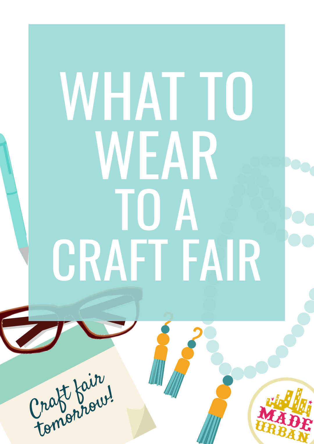 What to Wear to a Craft Fair to Boost Sales #craftfairs