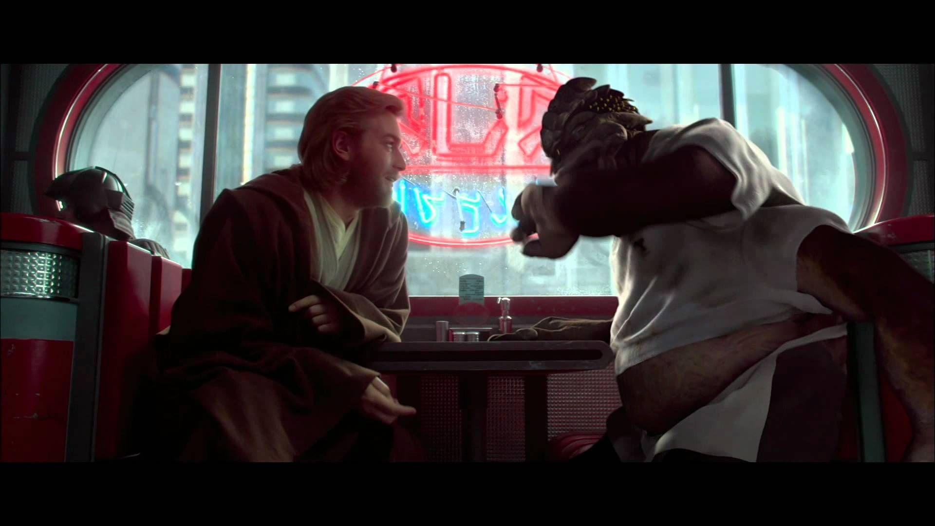 Obi Want And Dexter Jettster Star Wars Obi Wan Kenobi Obi Wan