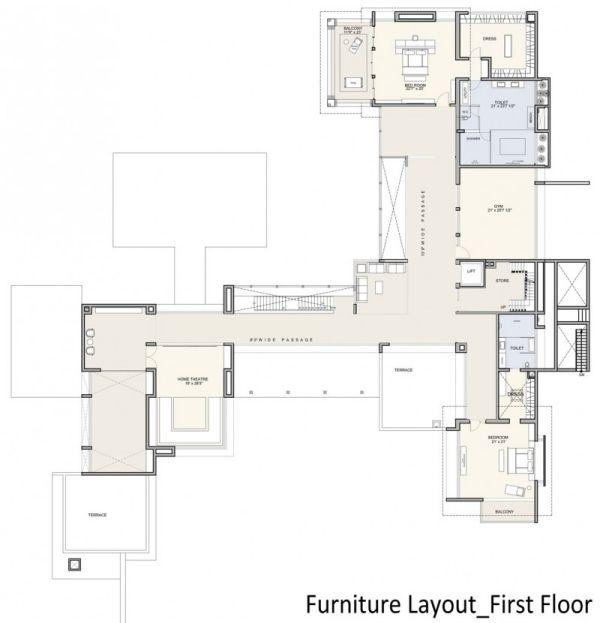 Designer Haus-Umrisse Bauplan offen   architecture   Pinterest ...